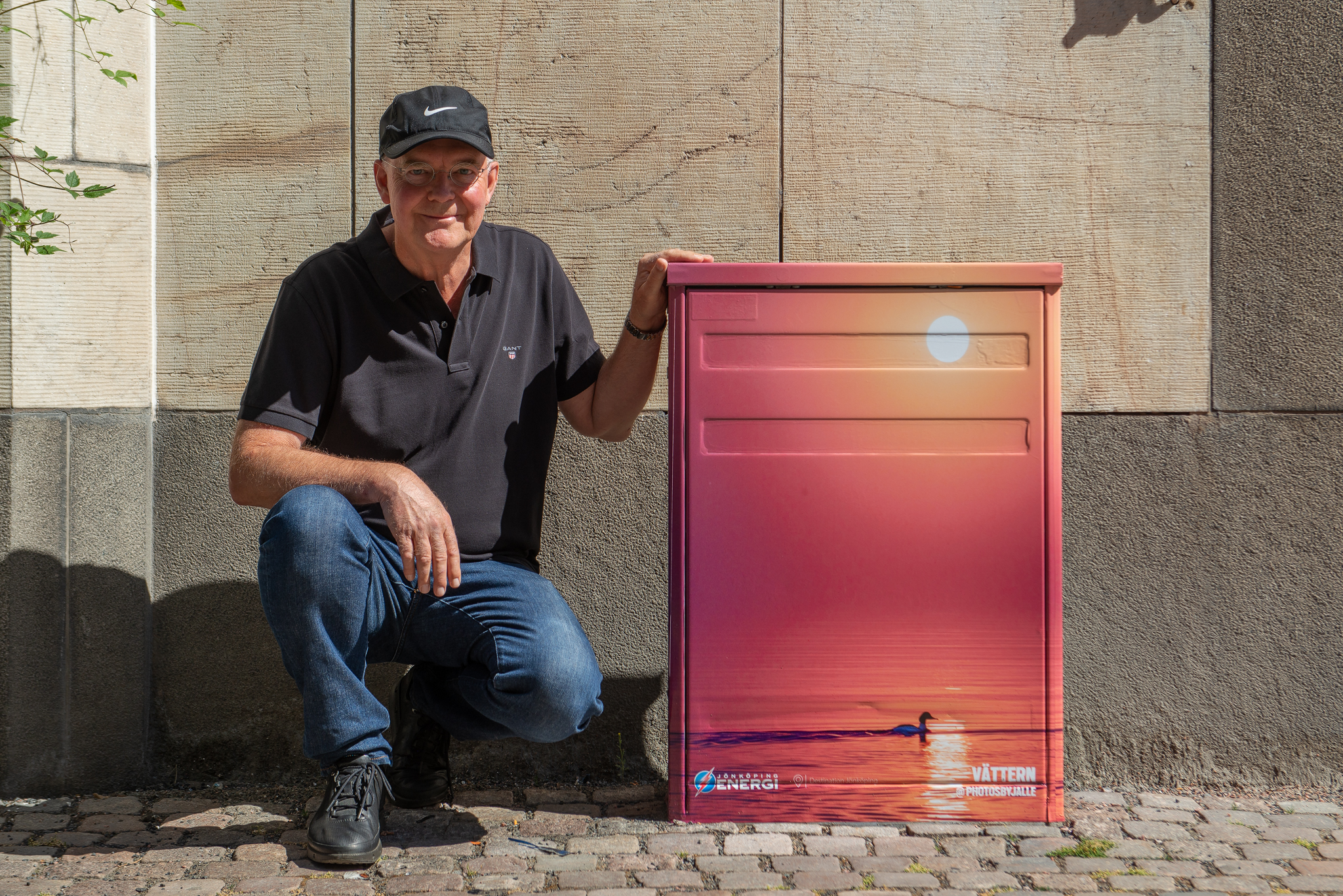 Jarl Strömbom, 65 år, vinnare i årets tävling #mittelskåp