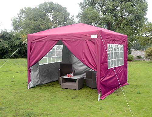 Pink 10x10 pop up canopy