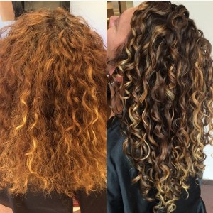 Pintura highlights the color method for curly hair devacurl blog to cool down your color you want to bring back depth so ask for highlights and lowlights pmusecretfo Image collections