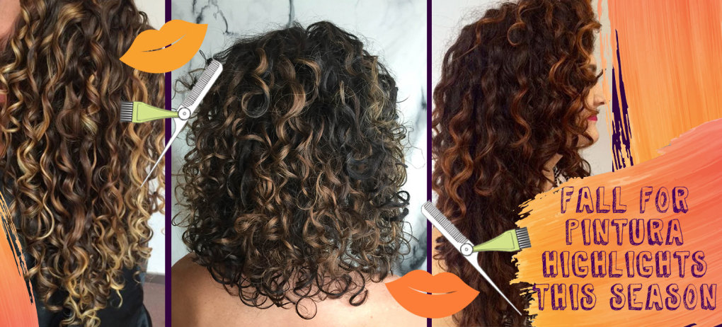 Pintura Highlights on Curly Hair - Featured Hero Image