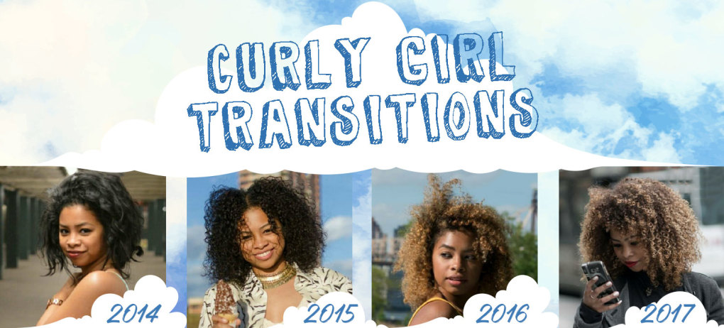 Transitioning To Natural Hair Before And After