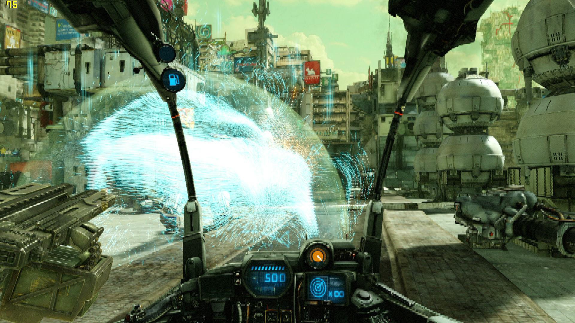 Обзор игры на PlayStation 4 Hawken. Обзор геймплея, тимплея, графики
