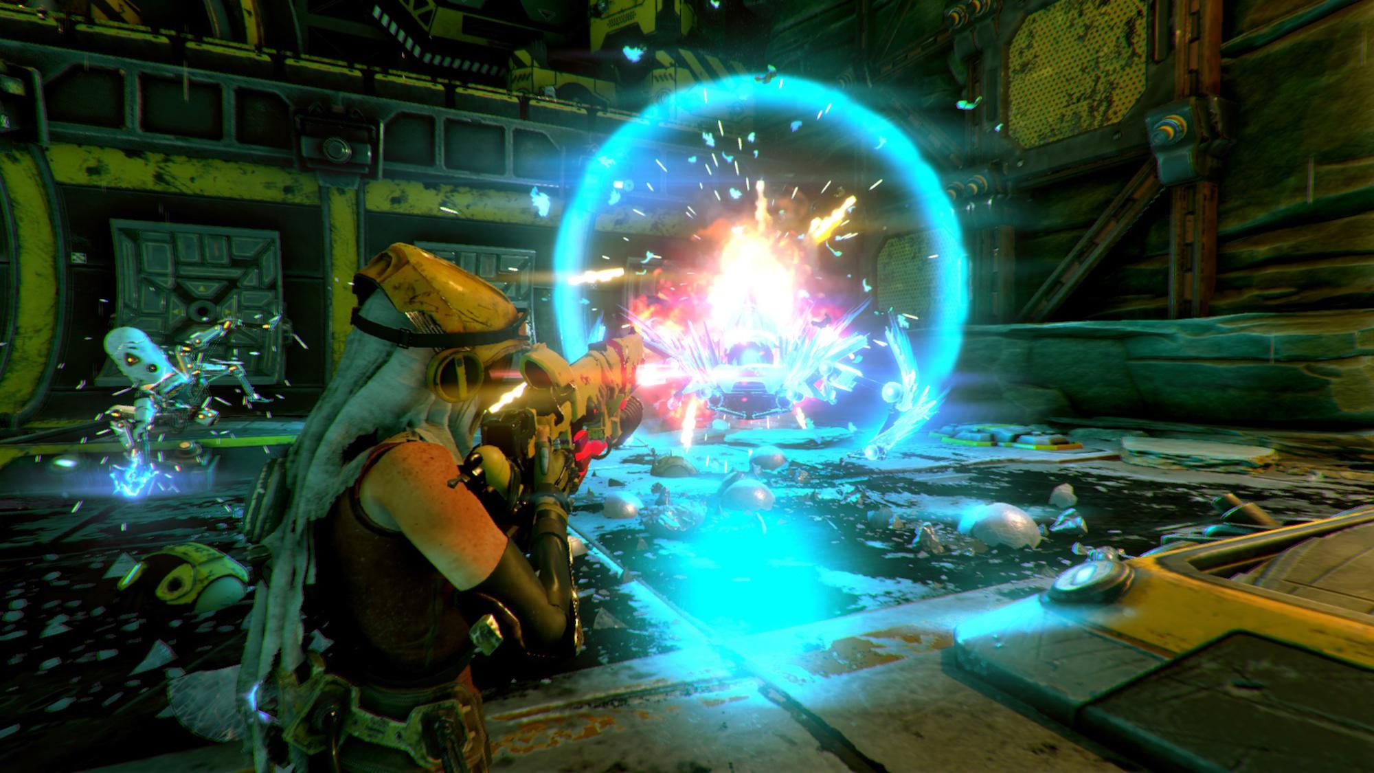 recore - новая игра 2016 года на Xbox One и PC Windows 10.