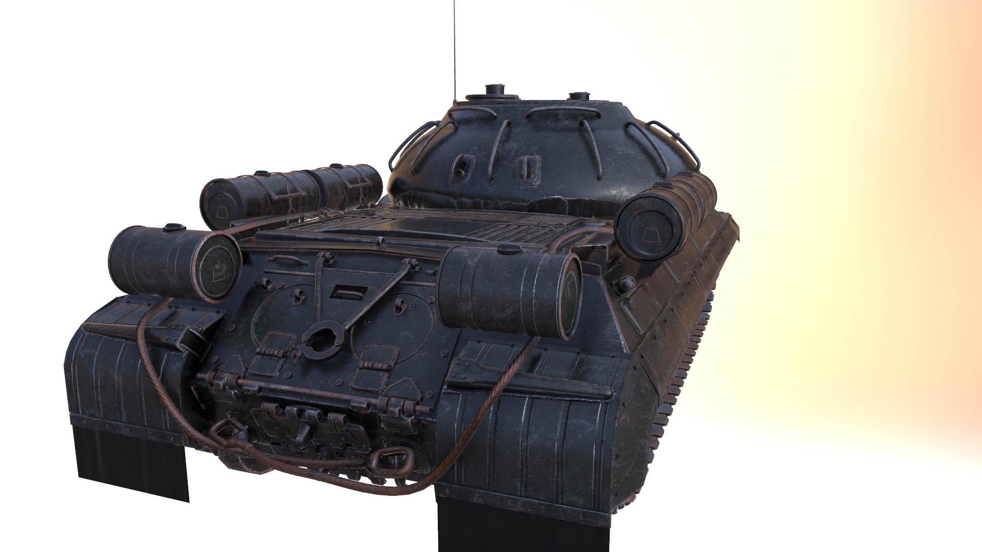 Soviet tank modelling