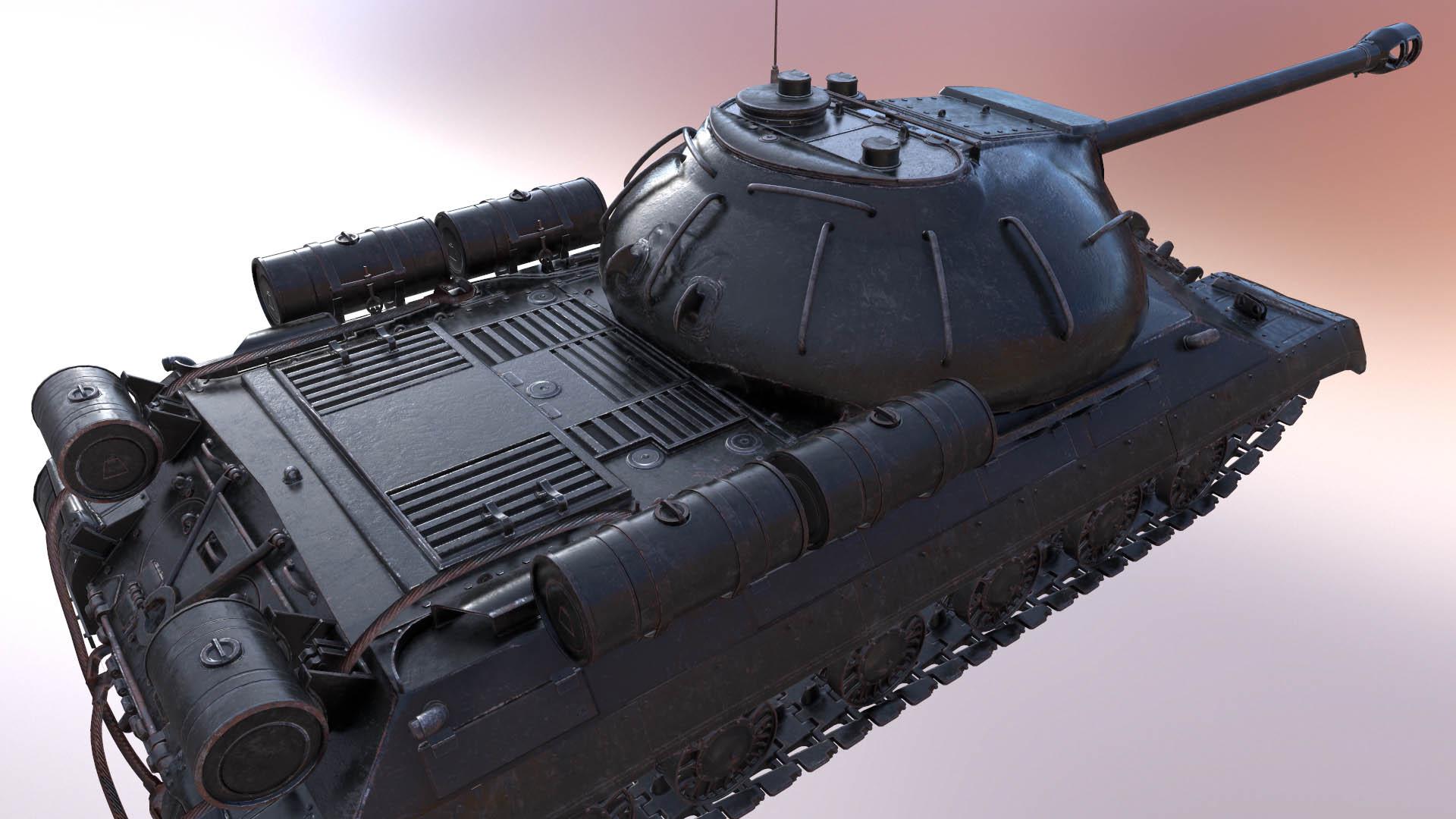 Создание танка 3ds Max