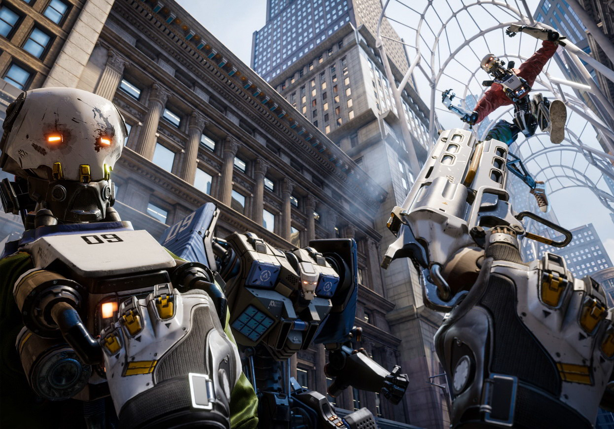 Robo Recall новая VR игра
