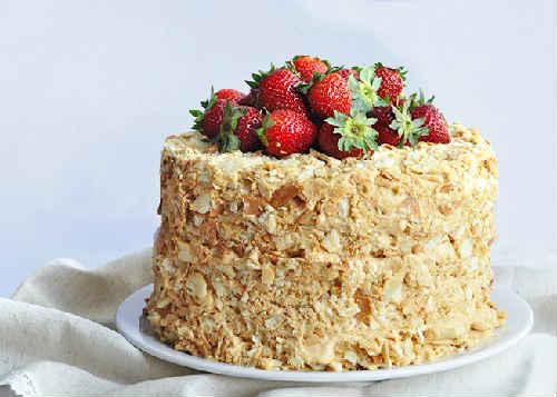 Торт наполеон рецепт на сковороде