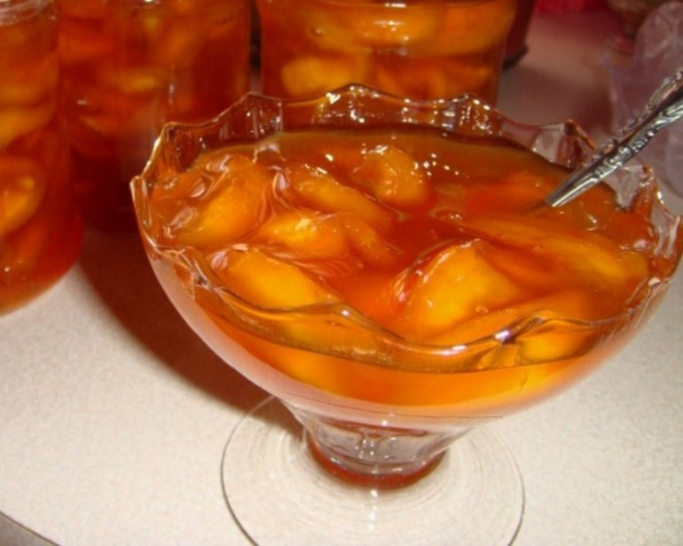 Варенье из нектаринов на зиму рецепт с фото пятиминутка