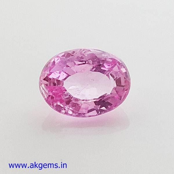 1 carat pink sapphire price