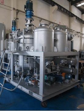 Установка регенерации масла