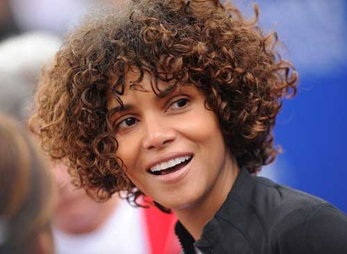 Halle berry new short haircut