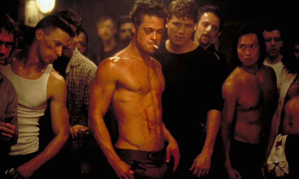 Brad pitt workout for fight club