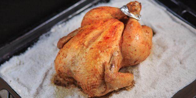 Как запечь утку в соли по рецепту Марты Стюарт в духовке