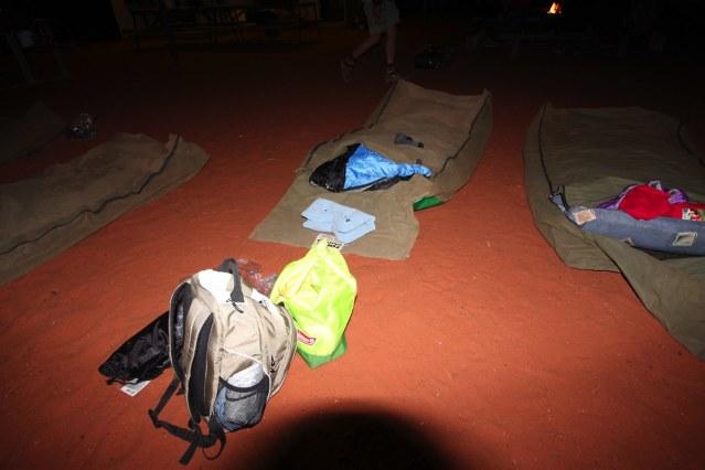 キャンプ場でおやすみなさい♫
