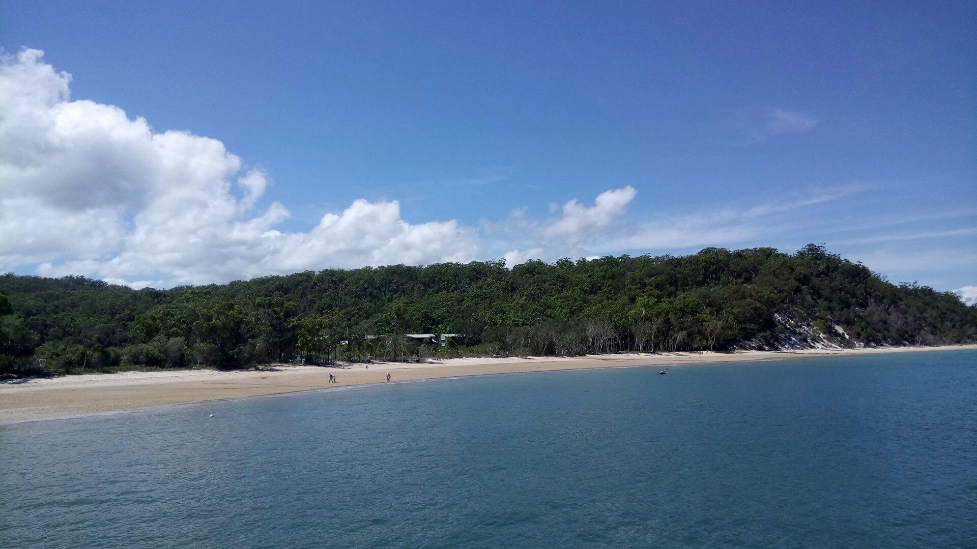 フレーザー島出発
