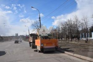 Улицы Ульяновска очищают от грязи и пыли