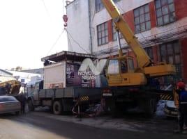 Ульяновские власти убирают незаконные киоски, гаражи и рекламу