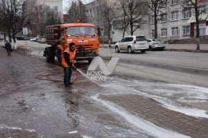 """Дороги и тротуары Ульяновска будут мыть с """"шампунем"""""""