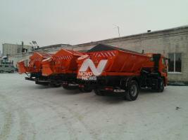 Ульяновские дорожники готовы к снегопаду