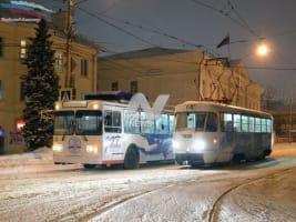 Перебои в работе электротранспорта Ульяновска устранены