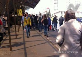 Эстафета в Ульяновске: обратная сторона медали