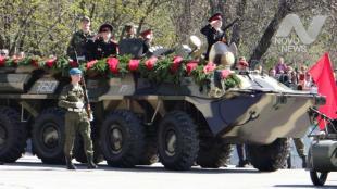 Перекрытие дорог в Ульяновске. Репитиция парада Победы