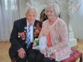 Спустя 70 лет ветераны Великой Отечественной Войны вновь обменялись кольцами в ульяновском загсе