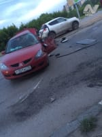 Страшное ДТП в Ульяновске. Обе машины разбились всмятку.