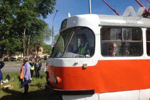 В северной части Ульяновск отремонтируют трамвайные пути