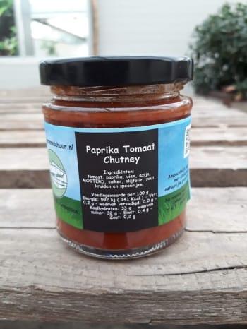 De Groene Schuur - Paprika-tomaat chutney