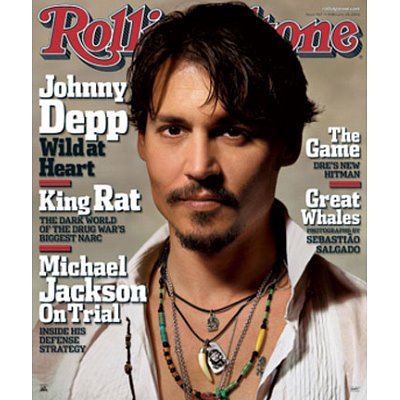 Rolling stone cover johnny depp