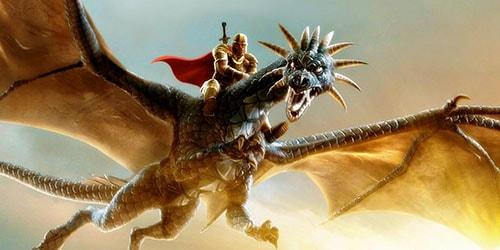 к чему снится летать на драконе
