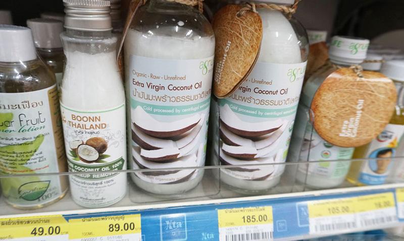 Кокосовое масло из привезти из тайланда