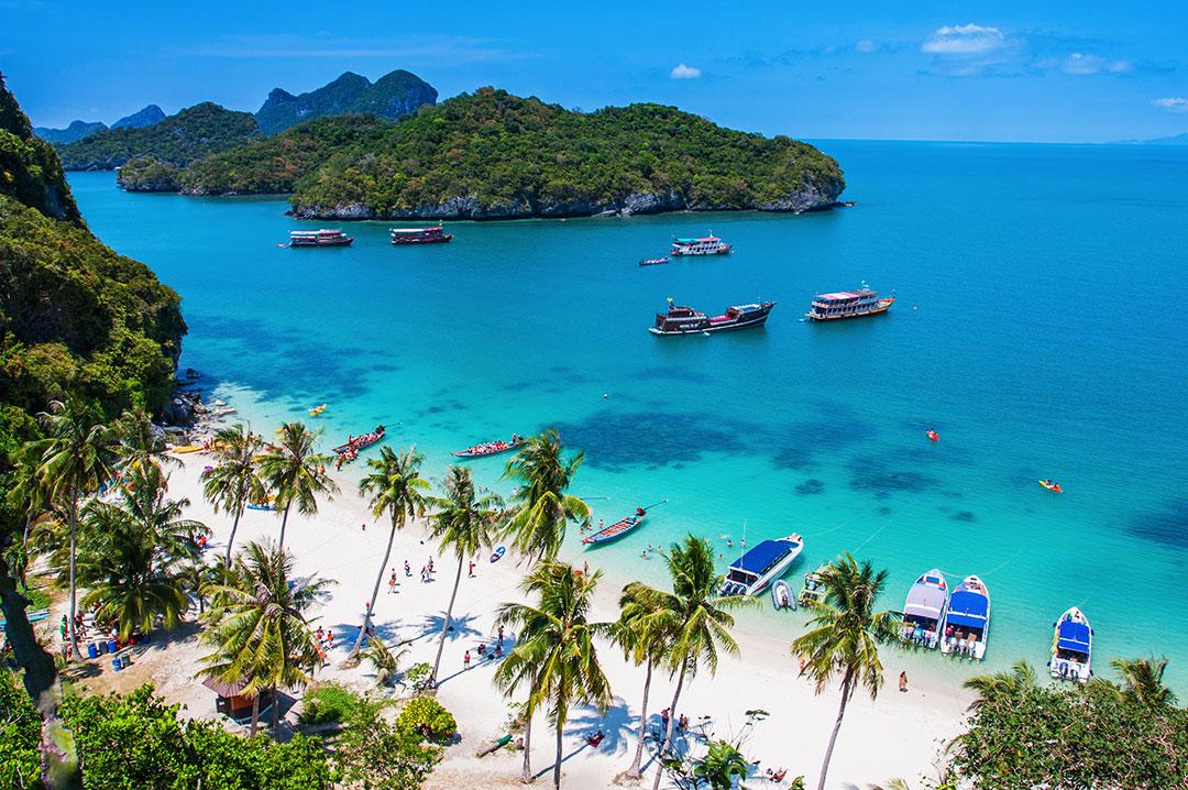Острова на юге таиланда
