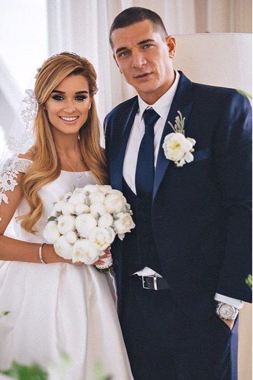 Ксения вышла замуж забизнесмена Курбана Омарова