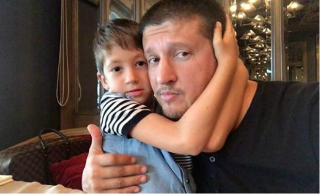Ренат Агзамов с сыном