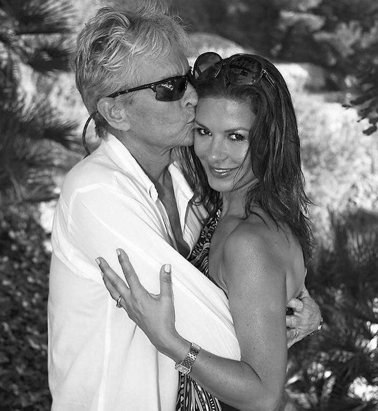 Кэтрин зета джонс и майкл дуглас фото свадьба