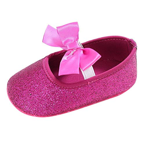 Hot pink baby girl shoes
