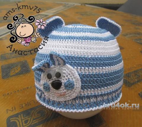 Схемы вязания ажурной шапочки