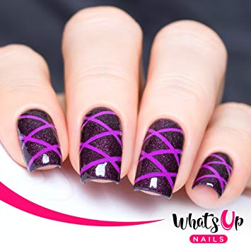 Tape strips for nails