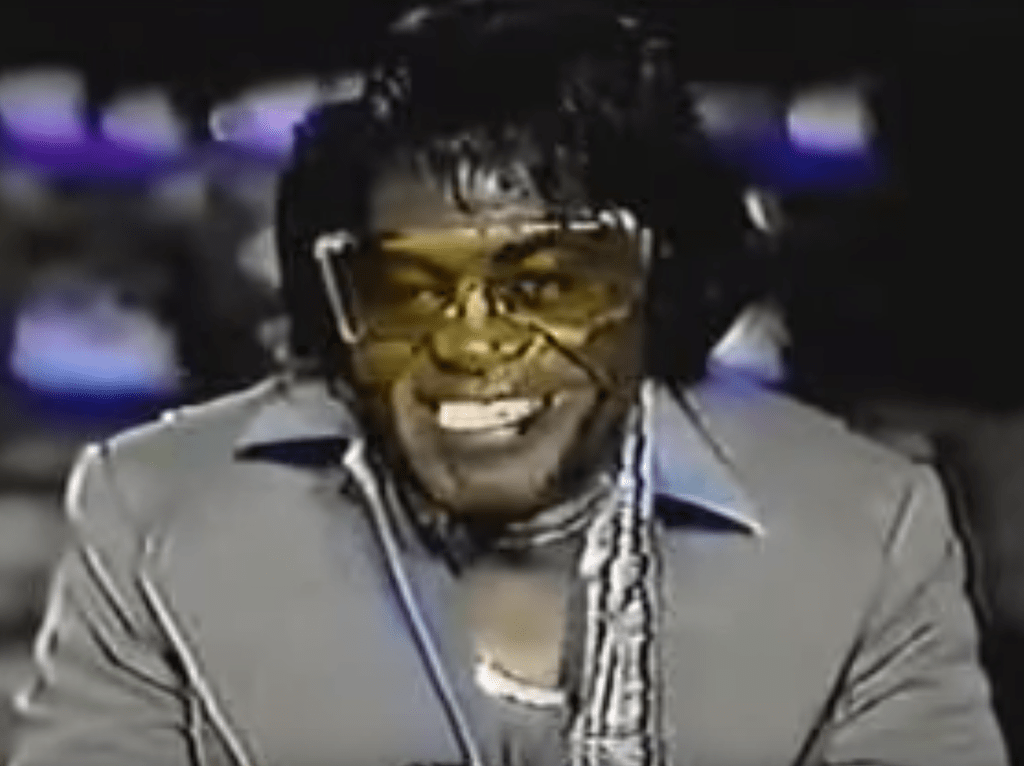James Brown Outrageous Celebrity Interview