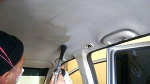 Средство для чистки потолка в машине