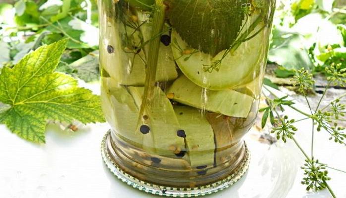 Рецепты маринование кабачков
