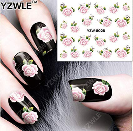 Flower stickers for nails