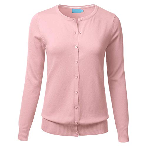 Light pink cardigans