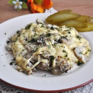 Печеночные котлеты с гречкой рецепт с фото