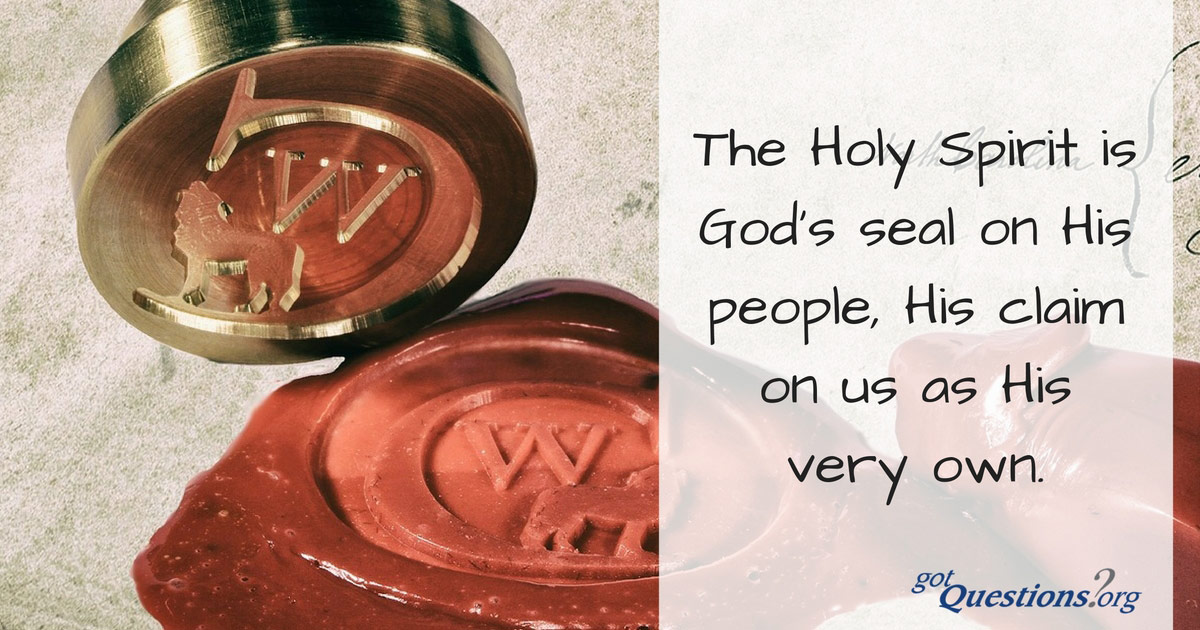 The seal of the holy spirit
