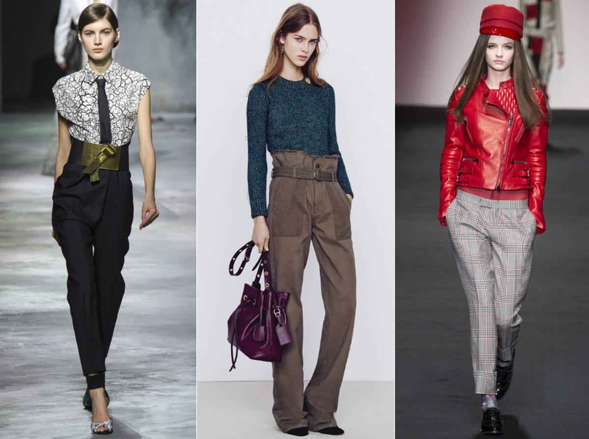 Сколько нужно ткани на женские брюки