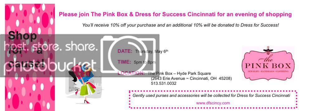 The pink box cincinnati website