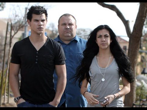 Pictures of taylor lautner and his family